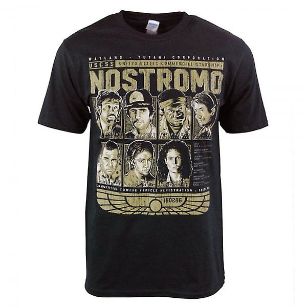 Honcho USCSS SFX Nostromo Crew T Shirt Black