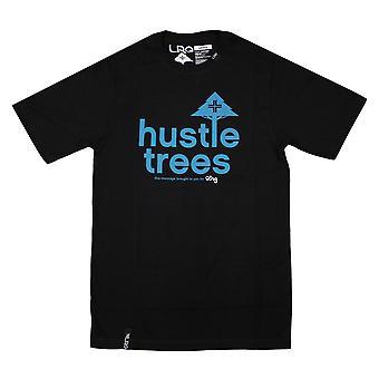 LRG RC touhu puita t-paita musta