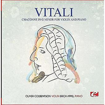 Vitali - Chaconne in G Minor for Violin & Piano [CD] USA import