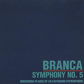 Glenn Branca - Glenn Branca: Symphony No. 5 Describing Planes of an Expanding Hypersphere [CD] USA import