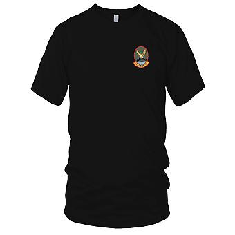 US Navy VS-24 Aviation Air Sea Control Squadron Twenty Four Embroidered Patch - Mens T Shirt