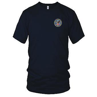 Dept. of Veterans anliggender små broderede Patch - Herre T-shirt