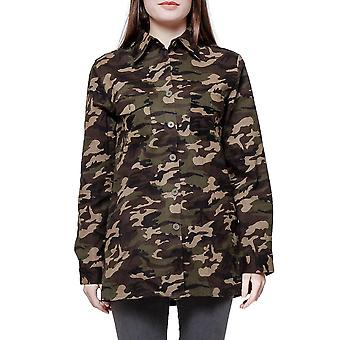Army Style Camouflage Loose Shirt