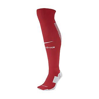 2017-2018 Atletico Madrid Nike hjem sokker (rød)