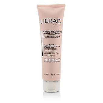 Lierac Double Nettoyant Creme Moussante Foaming Cream Double Cleanser - 150ml/4.9oz