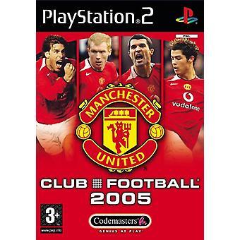 Club Football Manchester United 2005 (PS2) - Usine scellée