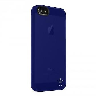 Belkin shield sheer funda para iPhone 5 / 5s - azul oscuro