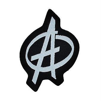 Anarchy Symbol Woven Patch