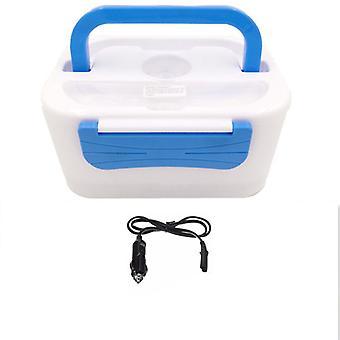 Kabalo Electric elektronikus, fűtött hordozható kompakt élelmiszer-melegítő ebéd Bento Box 12V autós adapter