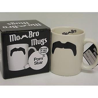 Mo Bro 'I'm a Porn Star' Mustache Mug