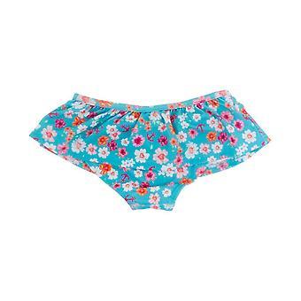 Banz dziewczyny UV falbanką Bikini Spodnie i spodenki - kwiaty