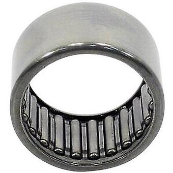 HK-needle roller bearings UBC Bearing HK 1010 Bore diameter 10 mm Outside diameter 14 mm Rotational speed (max.) 16000 rpm