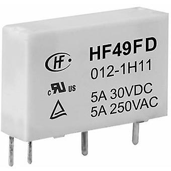 Hongfa HF49FD/012-1H12F PCB relay 12 V DC 5 A 1 maker 1 pc(s)