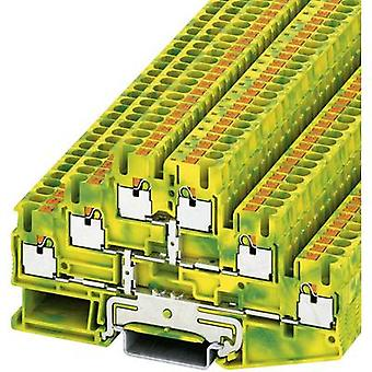 Phoenix Contact 3210525 PT 2,5-3PE Push-In Three-level Protective Conductor Terminal PIT-PE Green, Yellow