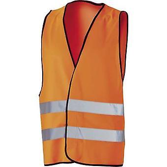 Gilet de Polyester-sécurité L + D Griffy 40961 taille: Unisize ENISO 20471:2013, classe 2