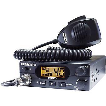 Presidente Teddy 40331 rádio