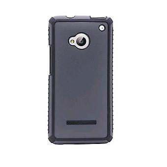 Pack de 5 - Body Glove Tactic brossé cas pour HTC One/M7 (Charcoal/Black)