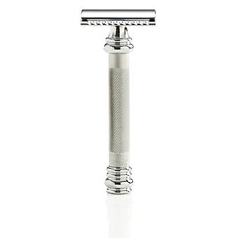 Merkur 38C Safety Razor - Satin Chrome