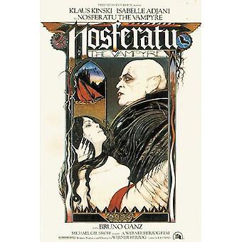Nosferatu Poster De Vampyre Klaus Kinski 91,5 x 61 cm