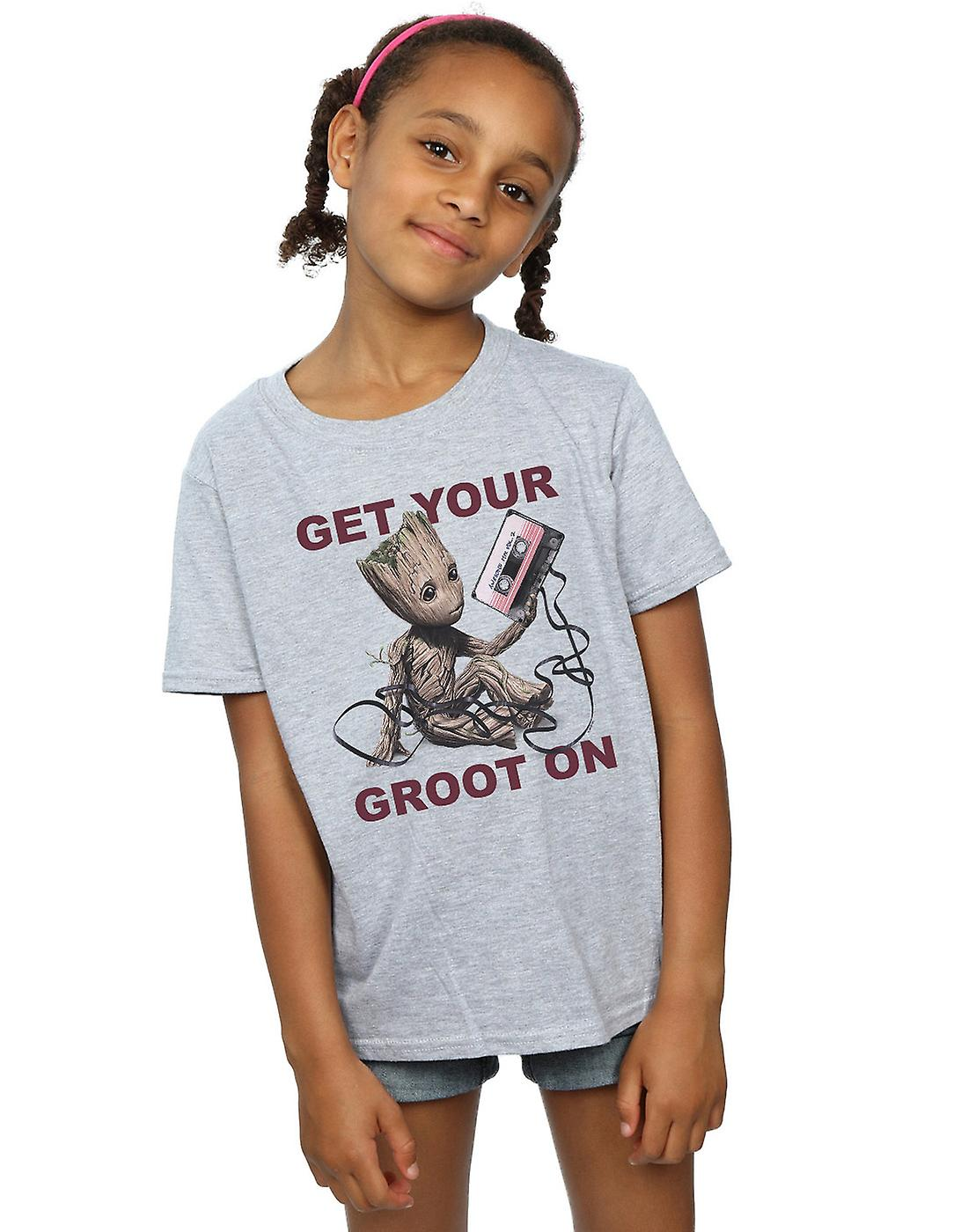 Marvel Girls Guardians Of The Galaxy Get Your Groot On T-Shirt