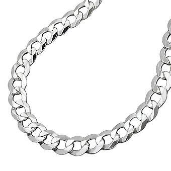 سلسلة درع الفضة 925 شقة 4، 5 مم