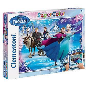 Clementoni Disney Frozen Puzzel + App 60-delig