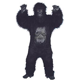 Costume de gorille luxe, unique taille