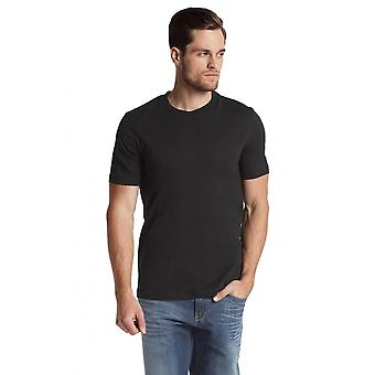BOSS 2-Pack Relaxed-Fit Crew-Neck T-Shirts, schwarz
