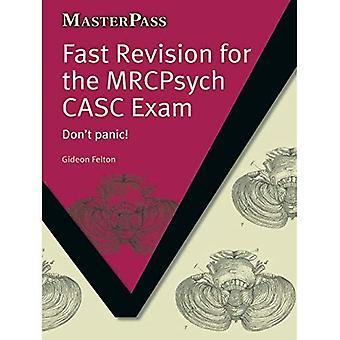 Rask gjennomgang på MRCPsych CASC eksamen: ikke få panikk!