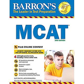 Barron's MCAT, 3rd Edition:� With Bonus Online Tests