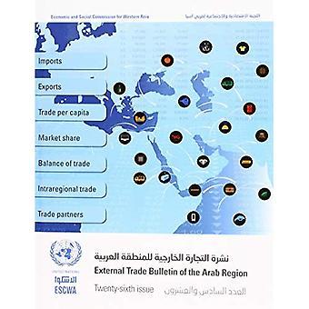 Bulletin du commerce extérieur de la région arabe, vingt-sixieme question (édition anglais/arabe)