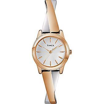 Timex kvinders klassiske analog quartz rustfrit stål TW2R98900