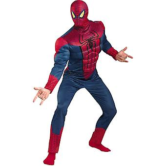 Spiderman film Adult kostym