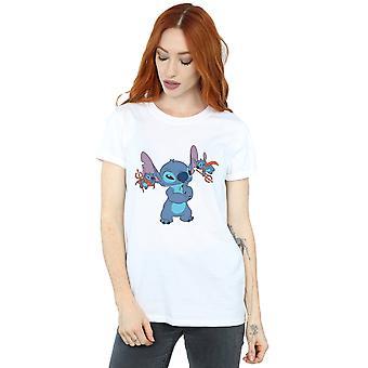 Kobiet Disney Lilo i Stich niewiele diabły chłopaka Koszulka