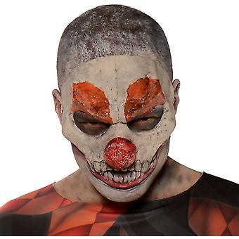 Onda Clown Mask för Halloween - 18288