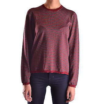 Prada Ezbc021024 Women's Burgundy Wool Sweater