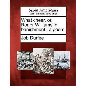 Welche jubeln oder Roger Williams in Verbannung ein Gedicht. durch Durfee & Job