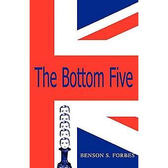 Die unteren fünf von Forbes & Benson S.
