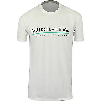 Quiksilver Mens Formula Uno-T-Shirt-weiß
