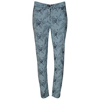 Laurie Straight Leg Pin Stripe & Floral Jeans