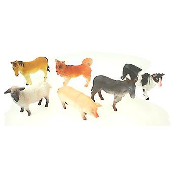 Pack of 6 Farm Animals