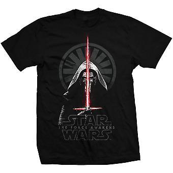 Άνδρες ' s Star Wars Επεισόδιο VII Kylo Ren σκιές T-shirt