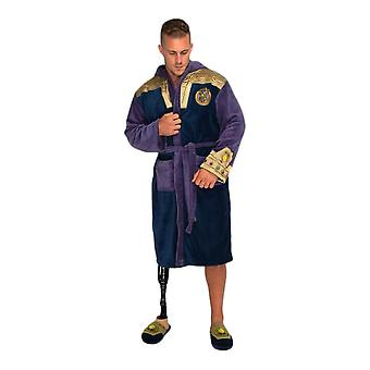 Marvel Avengers Thanos Fleece Dressing Gown  - ONE SIZE