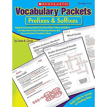 Vocabulary Packets - Prefixes & Suffixes - Ready-To-Go Learning Pac
