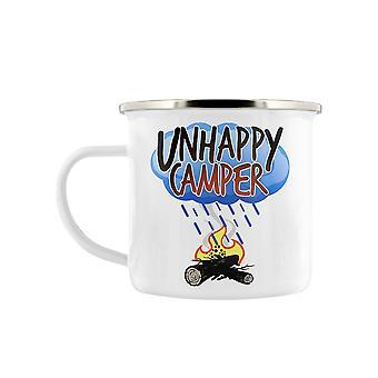 Grindstore unglücklicher Camper Enamel Mug