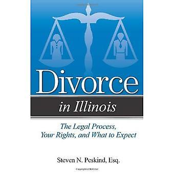 Divorce dans l'Illinois: le processus juridique, vos droits, et à quoi s'attendre