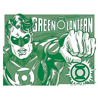 The Green Lantern Retro Tin Sign-II