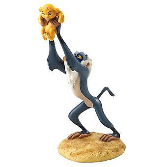 Disney fortryllende Collection Rafiki og Simba ' A King er Born ' figur
