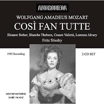 Mozart / Valletti - Cosi Fan Tutte (Sung in Englis [CD] USA import