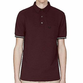 Fred Perry Mens Oxford Pique korte mouwen poloshirt M2584-472